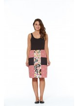 Trish A line Cotton Skirt - Surya and Tokyo  Prints